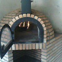 Forno de pizza pré moldado preço