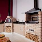Churrasqueira pré moldada com forno e fogão a lenha preço