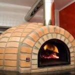 Refratário para forno de pizza